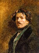 Eugene Delacroix Self Portrait _6 oil painting picture wholesale
